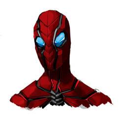 spiderman redesign by leonardovincent