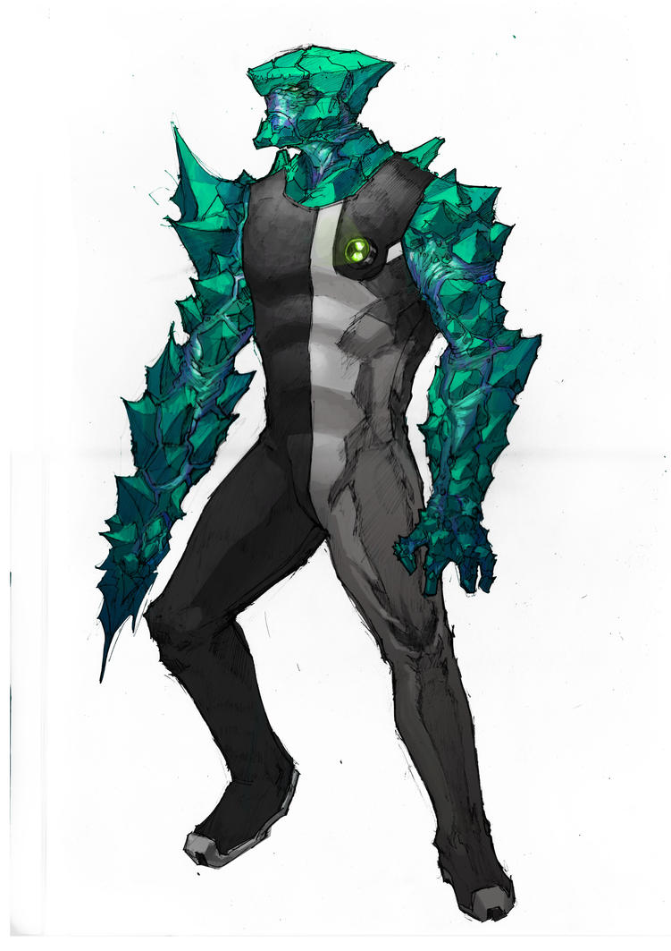 wikia latest ben alien by cb powered and fusion diamondhead wiki diamond fandom