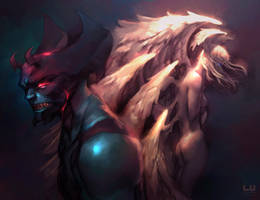 Good Demons, Bad Angels (Update)
