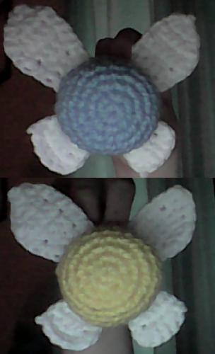 Free Crochet Pattern For Zelda : Crochet Navi From Zelda (with Pattern) by DesperateOtter ...