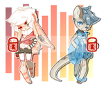 Neutral Summer Adopts [[SOLD]]