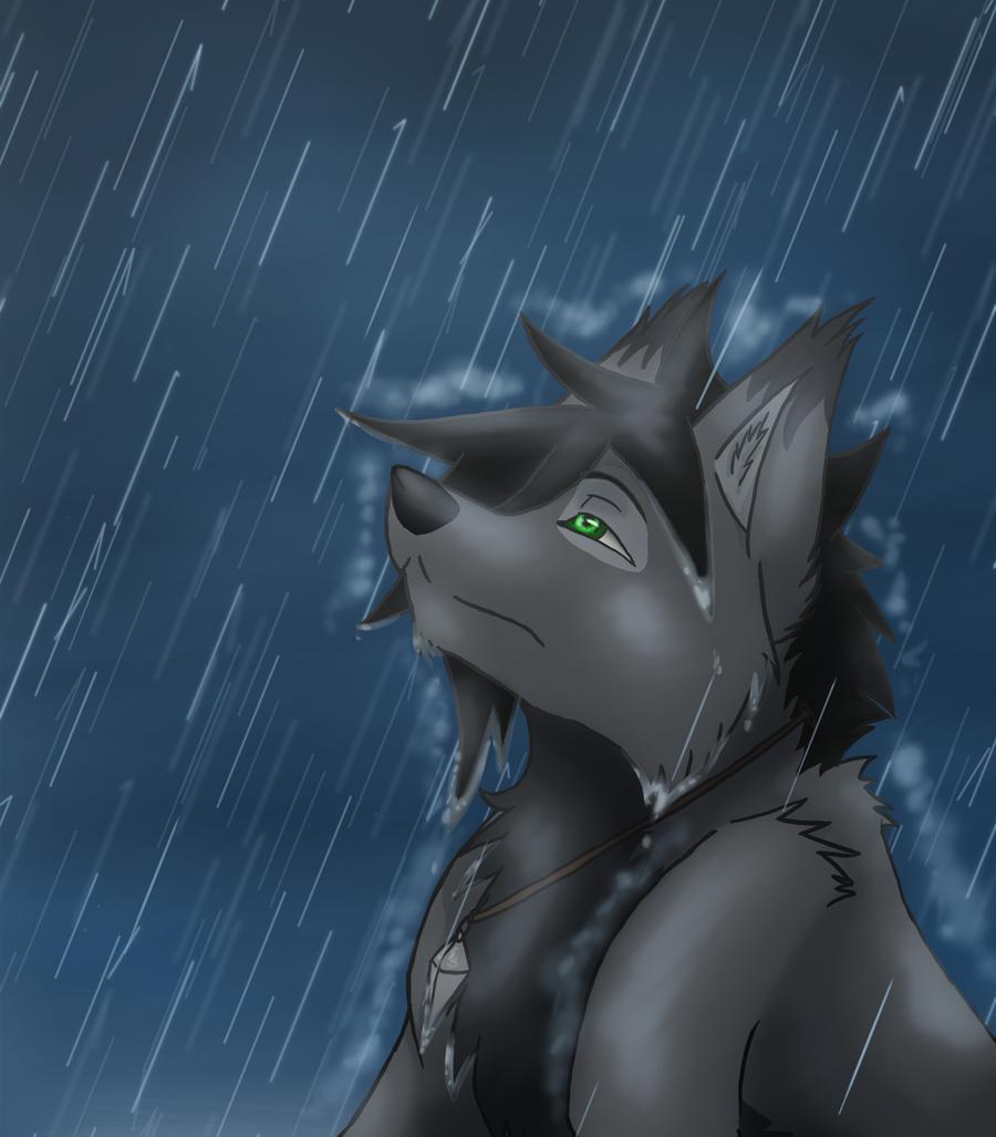 Rain by Quiell