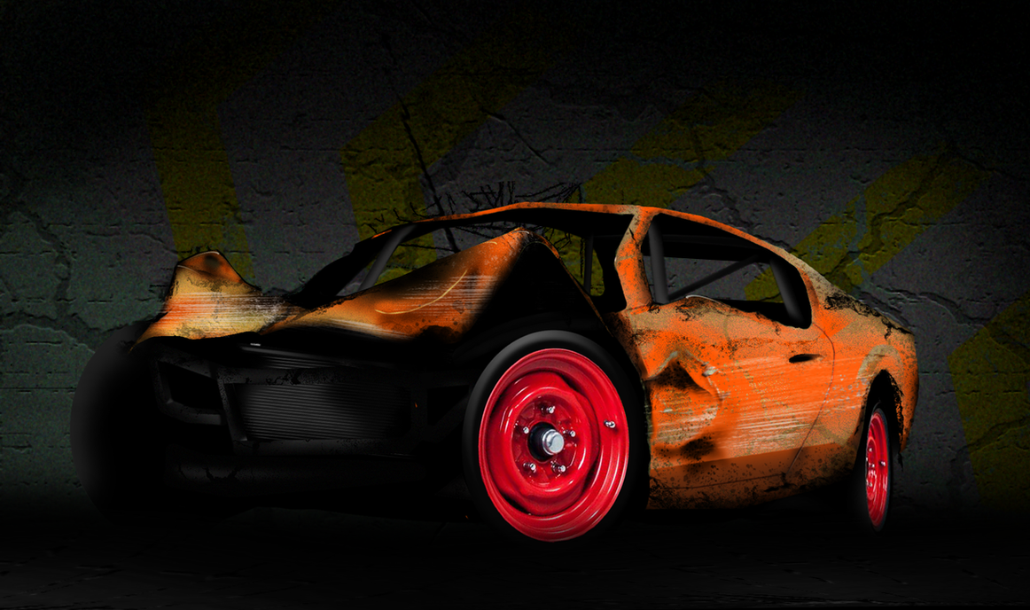 Car wreck by ussmees