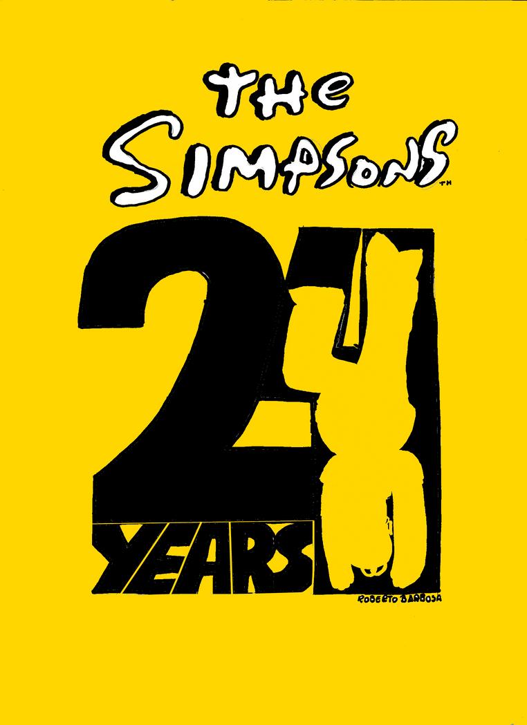 24 simpsons: