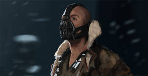 Bane from The Dark Knight Rises study