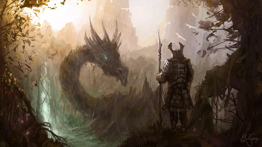 Swamp Dragon by artificialguy