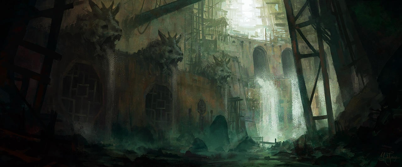 Sewers by artificialguy