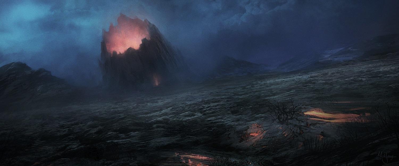 Volcano by artificialguy