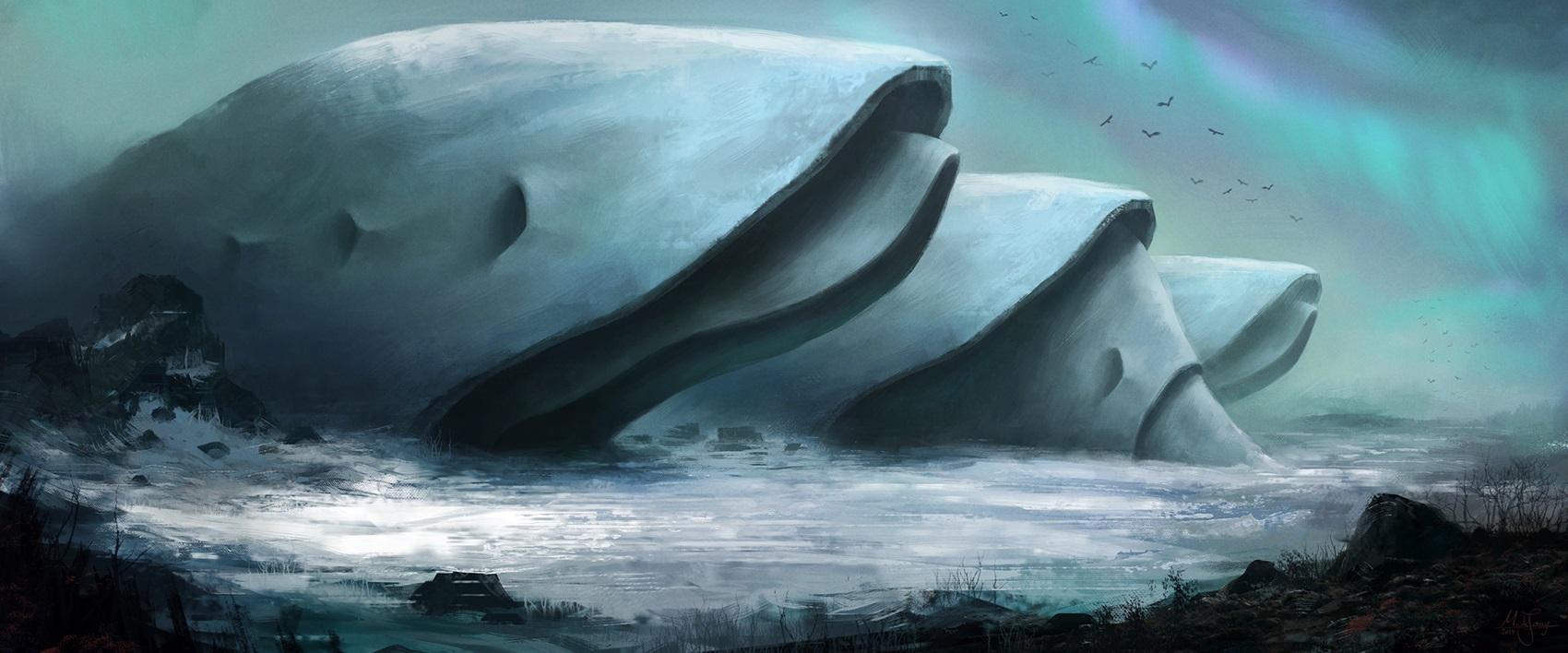 Alien structure by artificialguy