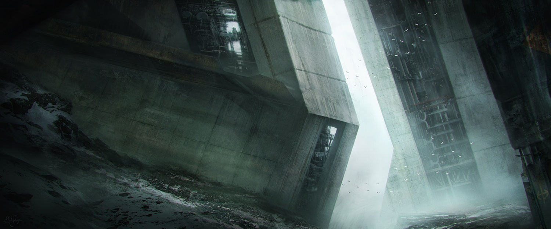 Scifi building by artificialguy