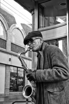 Street Saxophonist