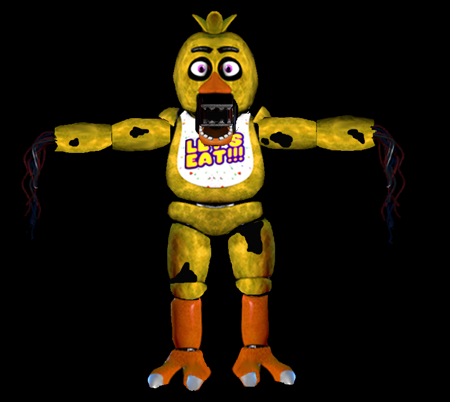 Withered chica gmod images galleries for Model chicken set