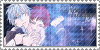 Stamp: Red King  and Blue Shadow by SunforJanuary