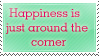 Stamp: Happiness by SunforJanuary