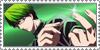 Stamp: Midorima Shintaro by SunforJanuary