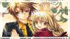 Stamp: Ayumu-x-Hiyono by SunforJanuary