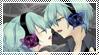 Stamp: Magnet - Mikuo-x-Miku by SunforJanuary