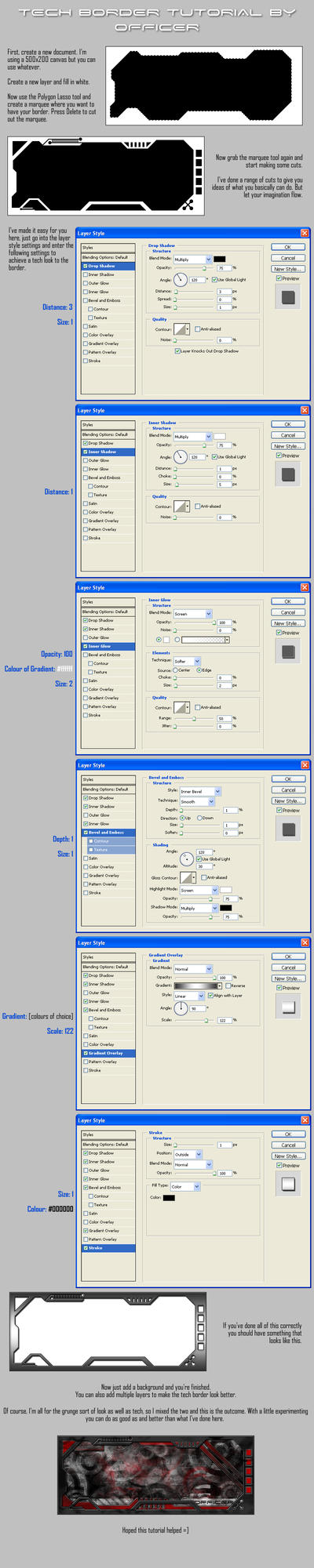 Photoshop tech border tutorial by officerng on deviantart photoshop tech border tutorial by officerng baditri Images