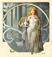 Lady Galadriel by shyangell