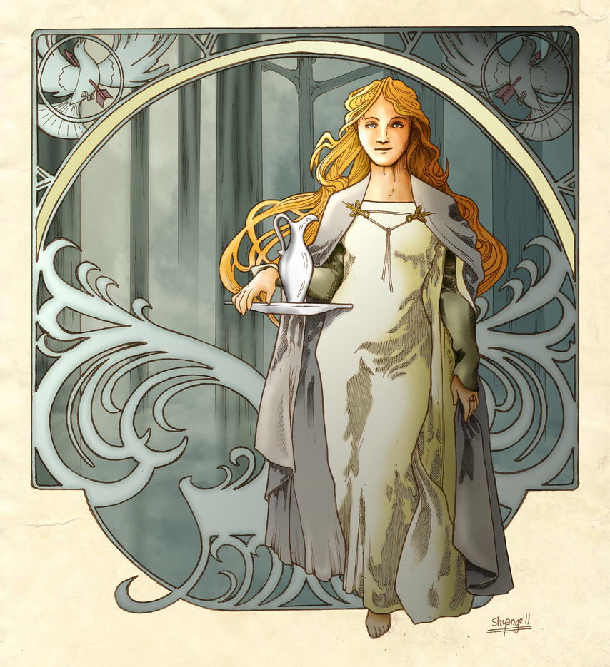 Lady Galadriel by shyangell