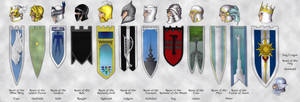 The Twelve Gondolin Houses