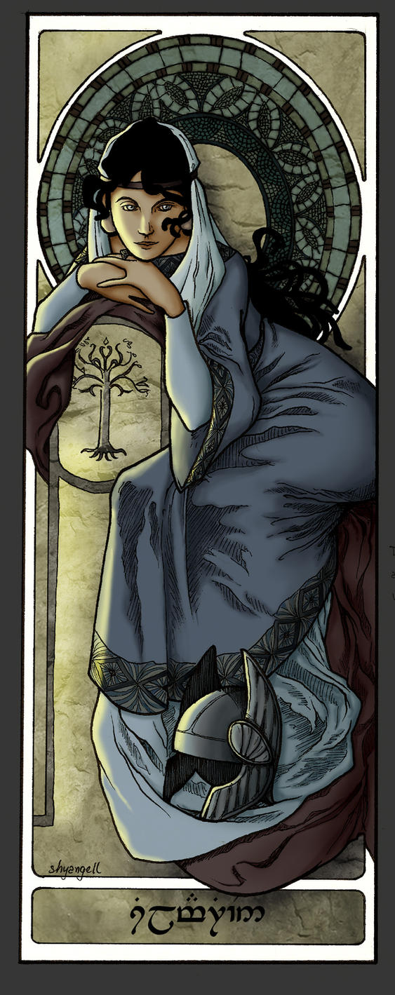 Queens Of Numenor - Princess Silmarien by shyangell