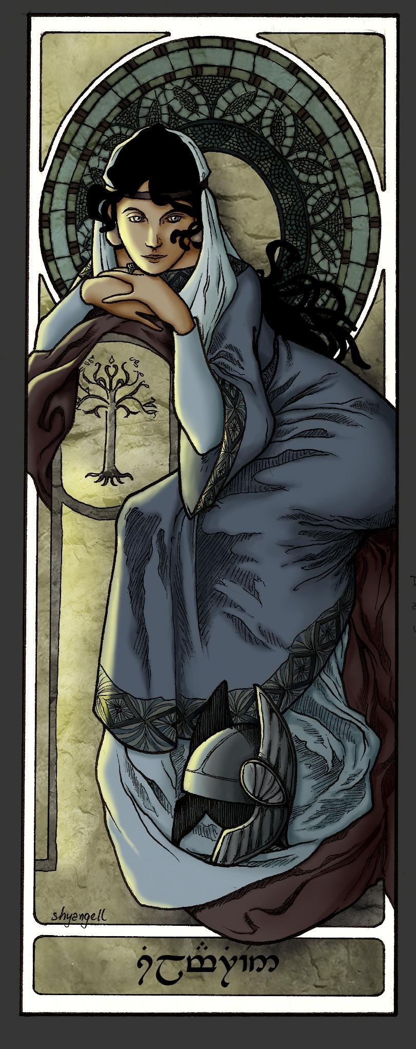 Queens Of Numenor - Princess Silmarien by shyangell