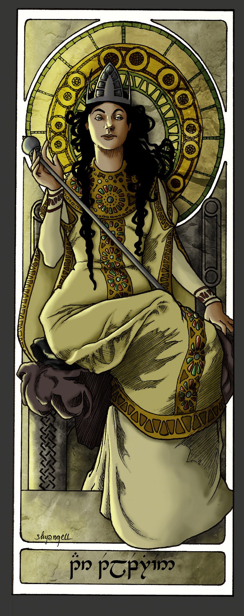 Queens Of Numenor - Tar-Telperien by shyangell