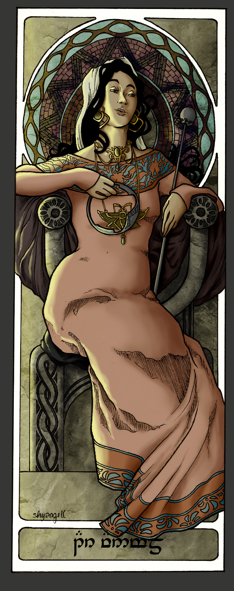 Queens Of Numenor - Tar-Vanimelde by shyangell