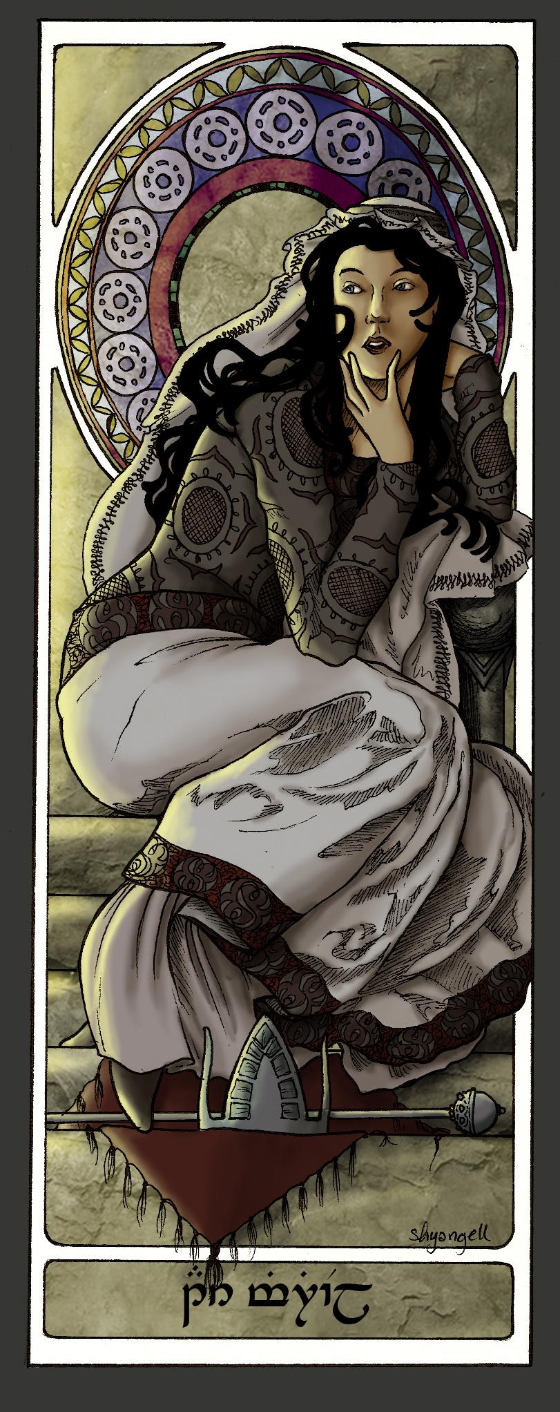 Queens Of Numenor - Ar-Zimphrael by shyangell