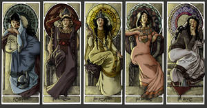 Recap: Queens of Numenor by shyangell