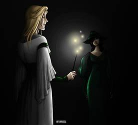 Silent Sisters in the Dark