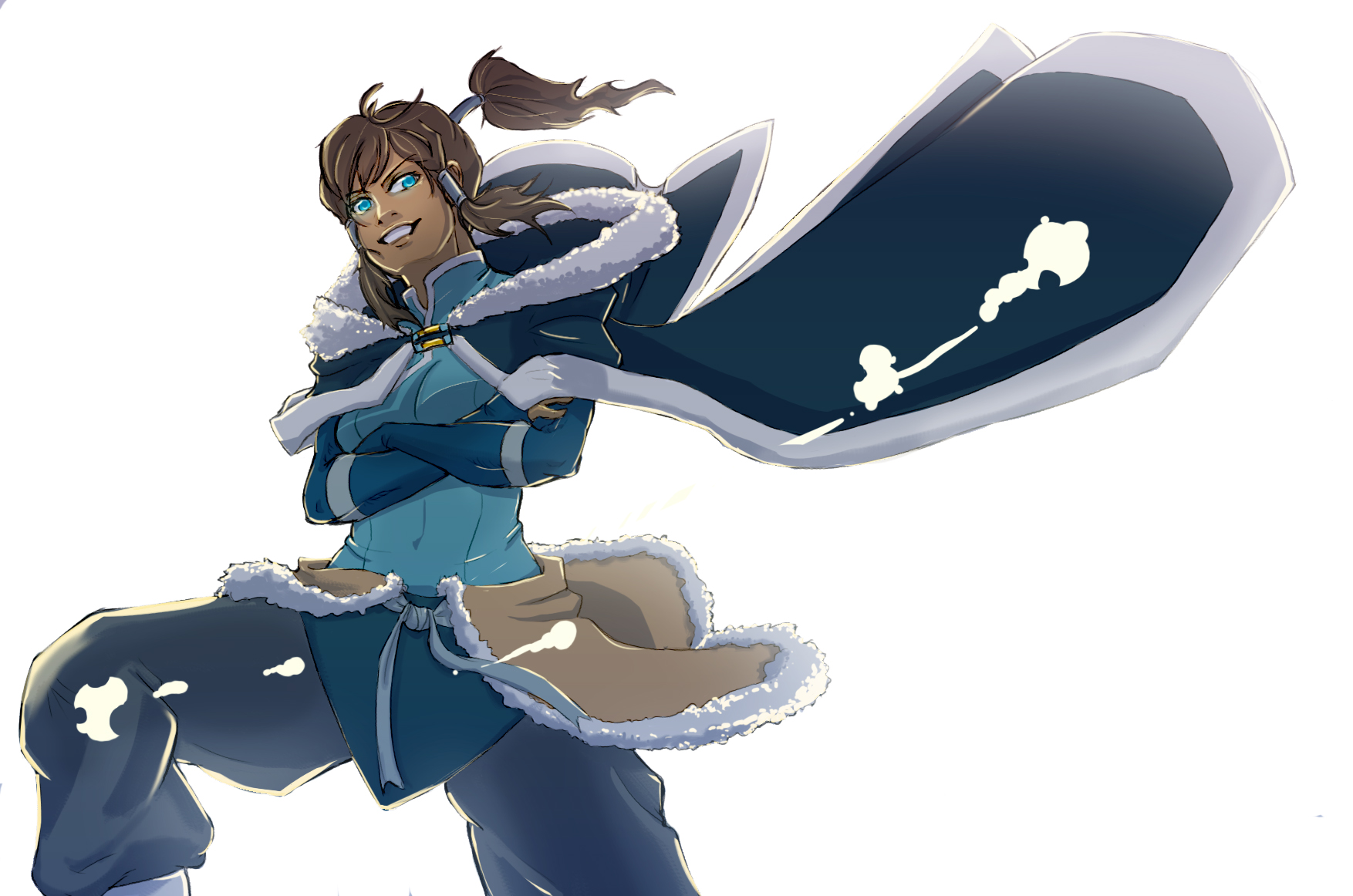 Korra by elicitchaos
