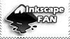 Inkscape Fan Stamp by Nakamo