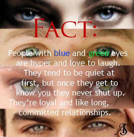 Fact: People with Blue and Green Eyes by ...