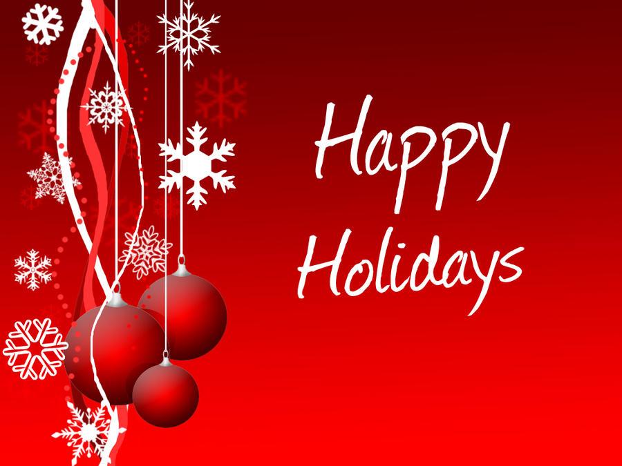 Happy Holidays Wallpaper by DarkTrick17 on DeviantArt