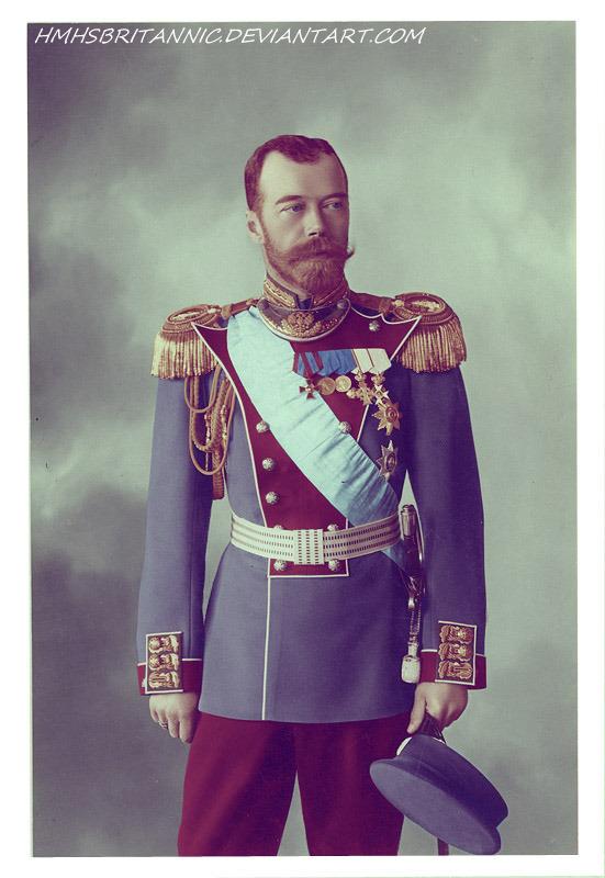Nicholas II by hmhsbritannic