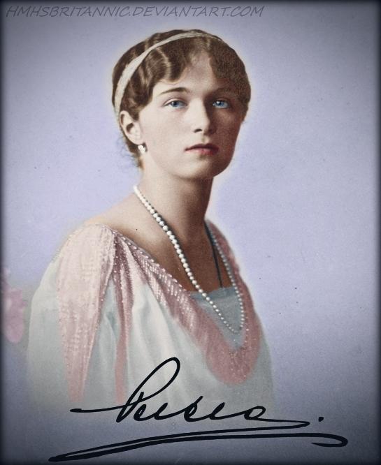 Olga 1914 by hmhsbritannic
