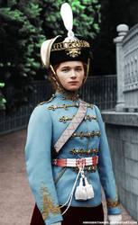Olga Hussard Uniform by hmhsbritannic