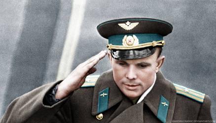 Youri Gagarin by hmhsbritannic