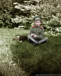 Tsarevich Alexei Nikolaevitch Romanov by hmhsbritannic