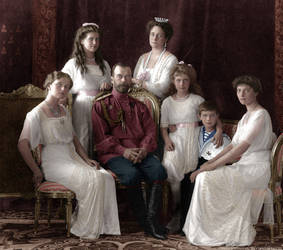 Imperial Family 1913 by hmhsbritannic