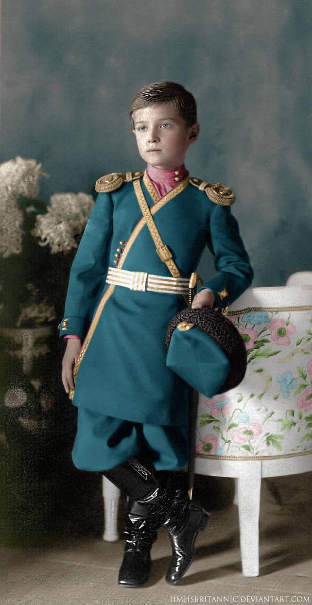 Tsesarevich Alexei by hmhsbritannic