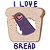 Trash Dove Loves Bread (not my art)