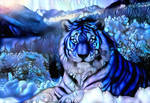 Dreamscape tiger