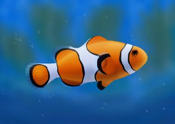 Clownfish (Daily 25) by Aurora-Alley