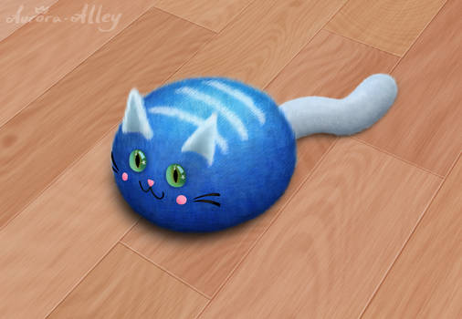 One Absolute Unit of Kawaii Cat (Daily 34)