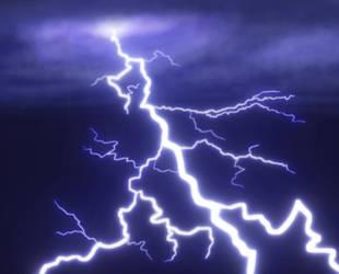 Lightning strike (Daily 35) by Aurora-Alley