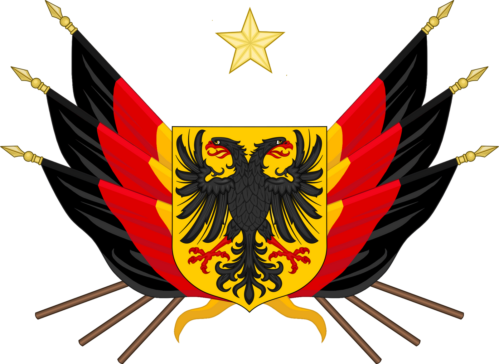 Coat of Arms of the German Empire by TiltschMaster on ...
