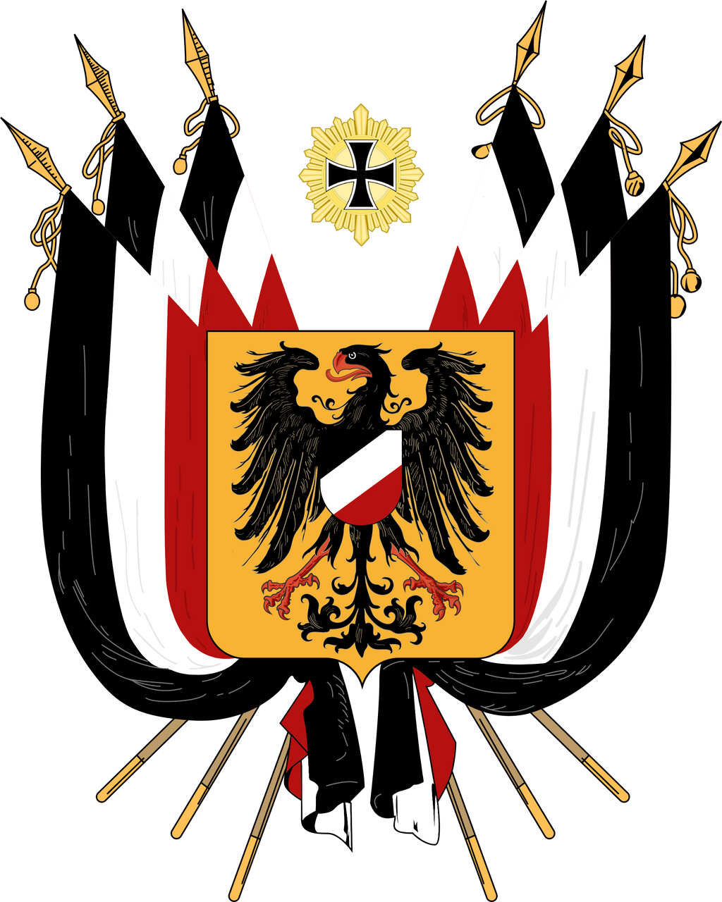 Random German coat of arms by TiltschMaster